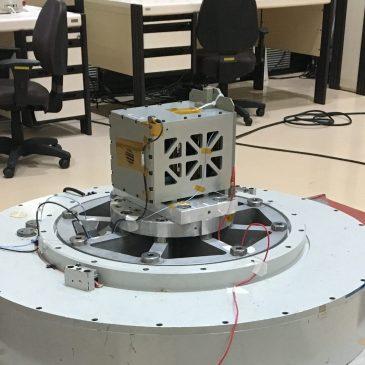 FloripaSat-1 Vibration Tests