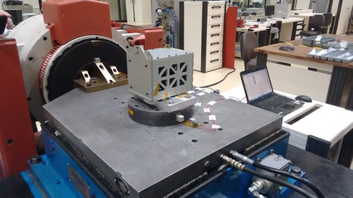 x axis vibration test